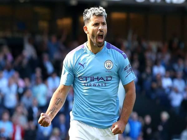 Sergio Aguero nằm top ghi bàn bóng đá Anh và vẫn đang thi đấu