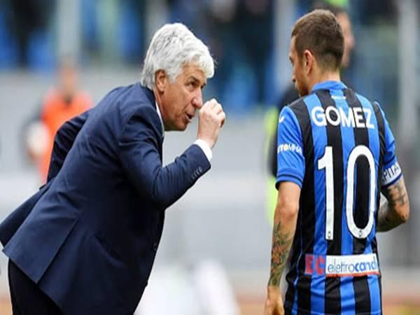 Atalanta đau đầu vì Gasperini & Gomez bất hòa