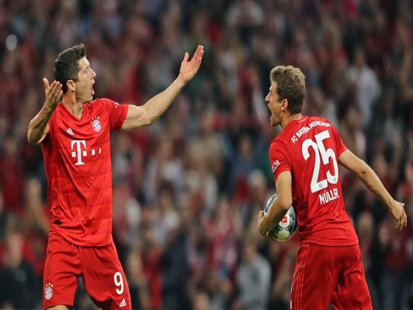 Muller và Lewandowski là 2 cầu thủ của Bayern nằm top ghi bàn Cup C1