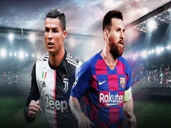 Ronaldo-Messi luôn dẫn đầu danh sách top ghi bàn mọi thời đại