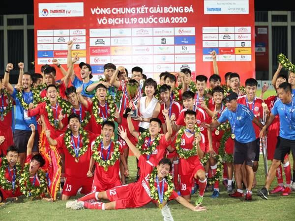 Khoảnh khắc vô địch của U19 PVF
