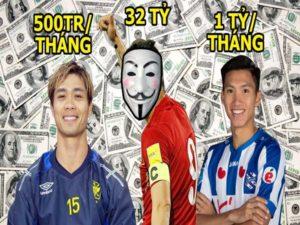 Lương cầu thủ Việt Nam và những con số gây shock