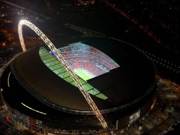 SVĐ Wembley nhìn từ trên cao