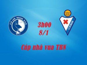 Soi kèo Las Rozas vs Eibar, 3h00 ngày 8/1