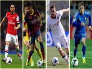 Top những cầu thủ thuận chân trái trong thế giới bóng đá