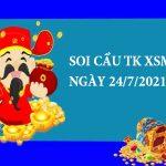 Soi cầu thống kê XSMT 24/7/2021 hôm nay