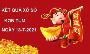 Soi cầu kết quả xổ số Kon Tum chủ nhật ngày 18/7/2021
