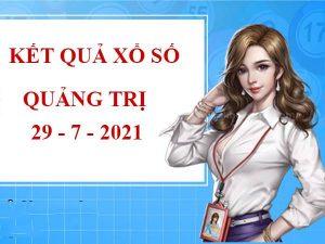 Soi cầu kết quả xổ số Quảng Trị thứ 5 ngày 29/7/2021