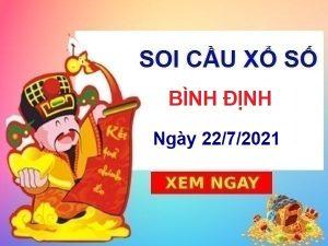 Soi cầu XSBDI ngày 22/7/2021 chốt số Bình Định thứ 5 hôm nay