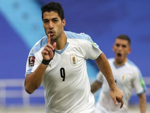 Bóng đá QT chiều 31/8: Suarez không dự vòng loại World Cup tháng 9