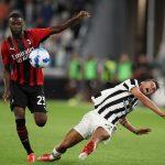 Bóng đá quốc tế 20/9: Hòa Milan, Juventus rơi xuống nhóm trụ hạng