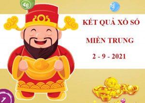 Soi cầu kết quả sổ xố Miền Trung thứ 5 ngày 2/9/2021