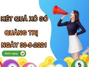 Soi cầu số đẹp KQXSQT ngày 30/9/2021 thứ 5