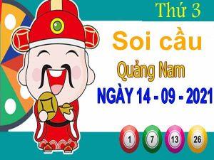 Soi cầu XSQNM ngày 14/9/2021 – Soi cầu KQ xổ số Quảng Nam thứ 3