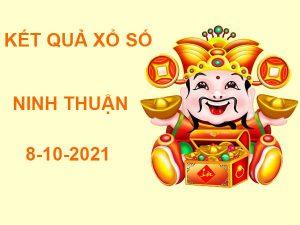Soi cầu kết quả sổ xố Ninh Thuận 8/10/2021 hôm nay thứ 6