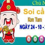Soi cầu XSKT ngày 24/10/2021 – Soi cầu đài xổ số Kon Tum chủ nhật
